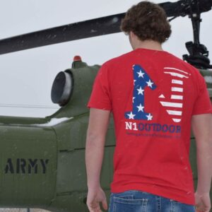 N1 America cotton tee patriotic shirts