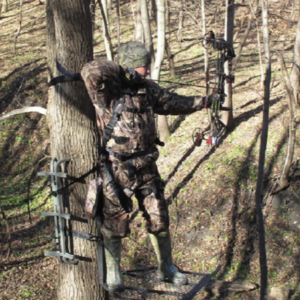 lock on tree stand